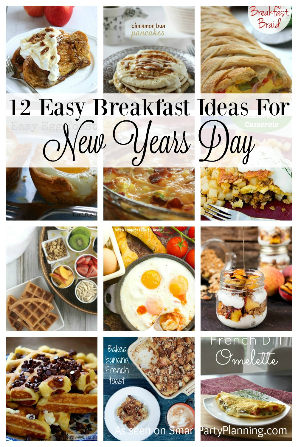 12 Easy Breakfast Ideas for New Years Day