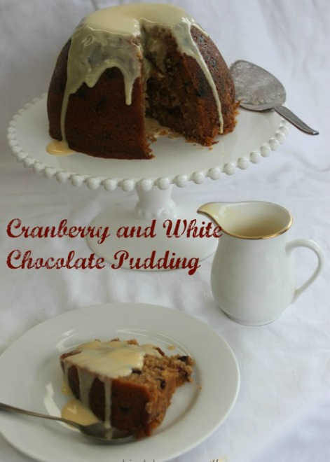 Cranberry & White Chocolate Pudding