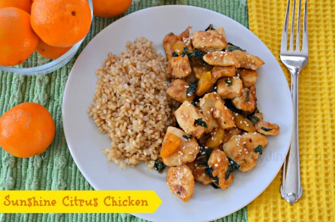 Sunshine Citrus Chicken
