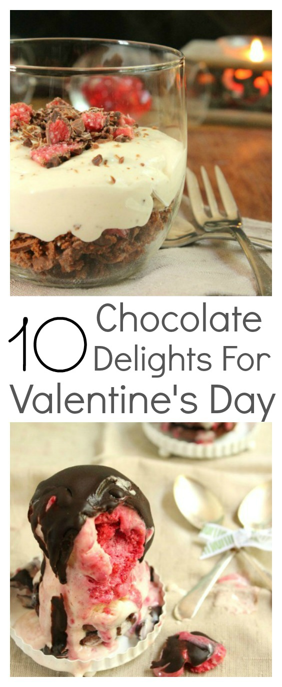 10 homemade chocolate delight recipes that are easy to make, taste delicious and will melt the heart of your loved one. A Valentine's day treat couldn't be easier.