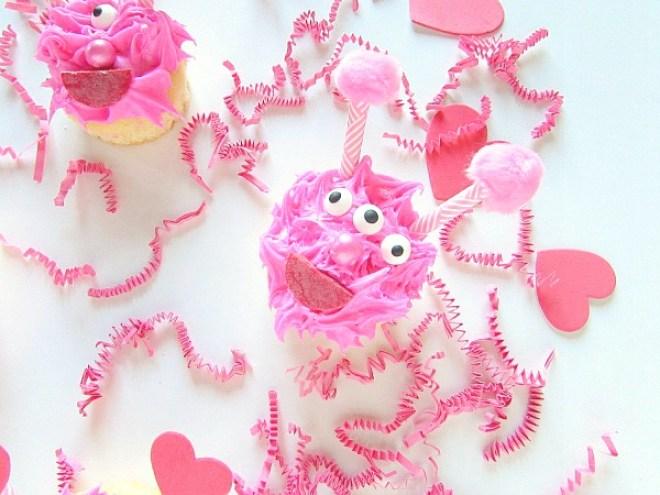 Love Monster Cupcakes