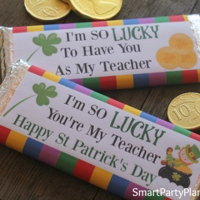 Teacher Appreciation Gift For St Patrick's Day