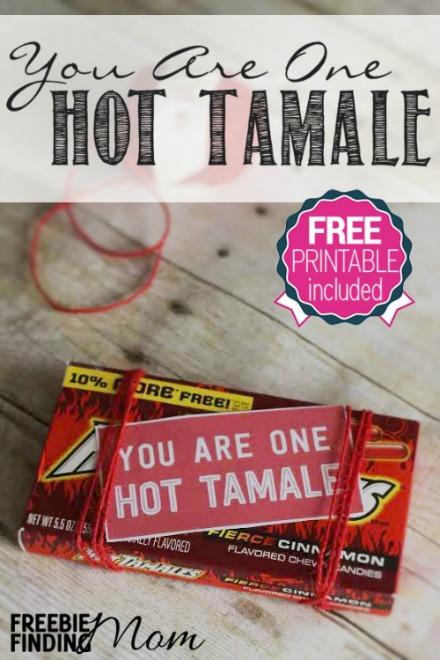 Hot tamale free printable