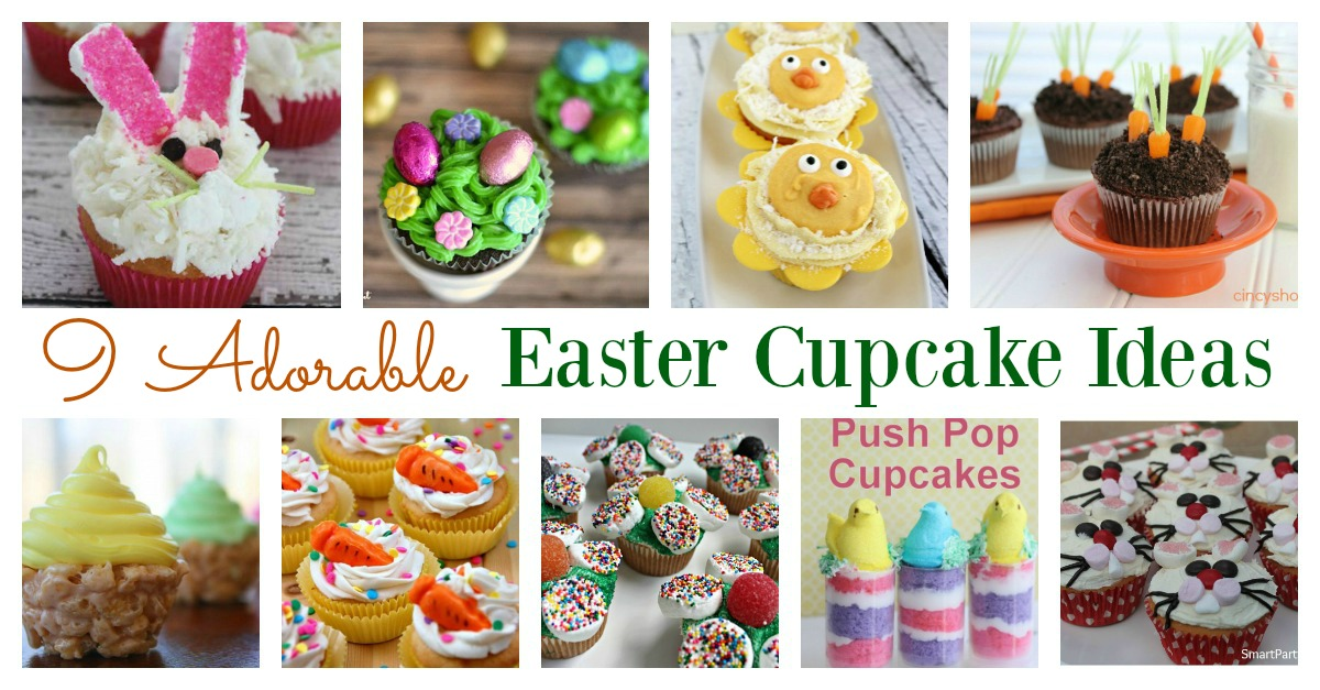 Can cupcakes be classified as desserts?  Well, when they are this cute, they certainly can! You can have fun with the kids in the kitchen making these Easter cupcakes, and you will love these quick and easy recipes. You don't need to look any further for Easter cupcake ideas.