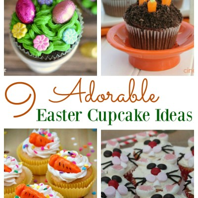 9 Adorable Easter Cupcake Ideas
