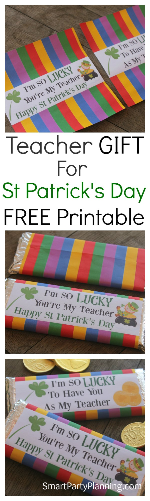 Teacher Appreciation Gift For St Patricks Day