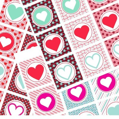 Heart Cupcake Toppers For Valentine's Day