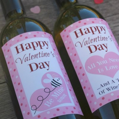 The Perfect Gift For Valentines Day: Free Wine Labels