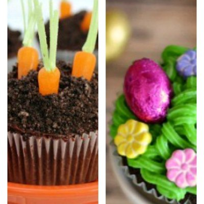 9 of The Best Easter Cupcake Ideas