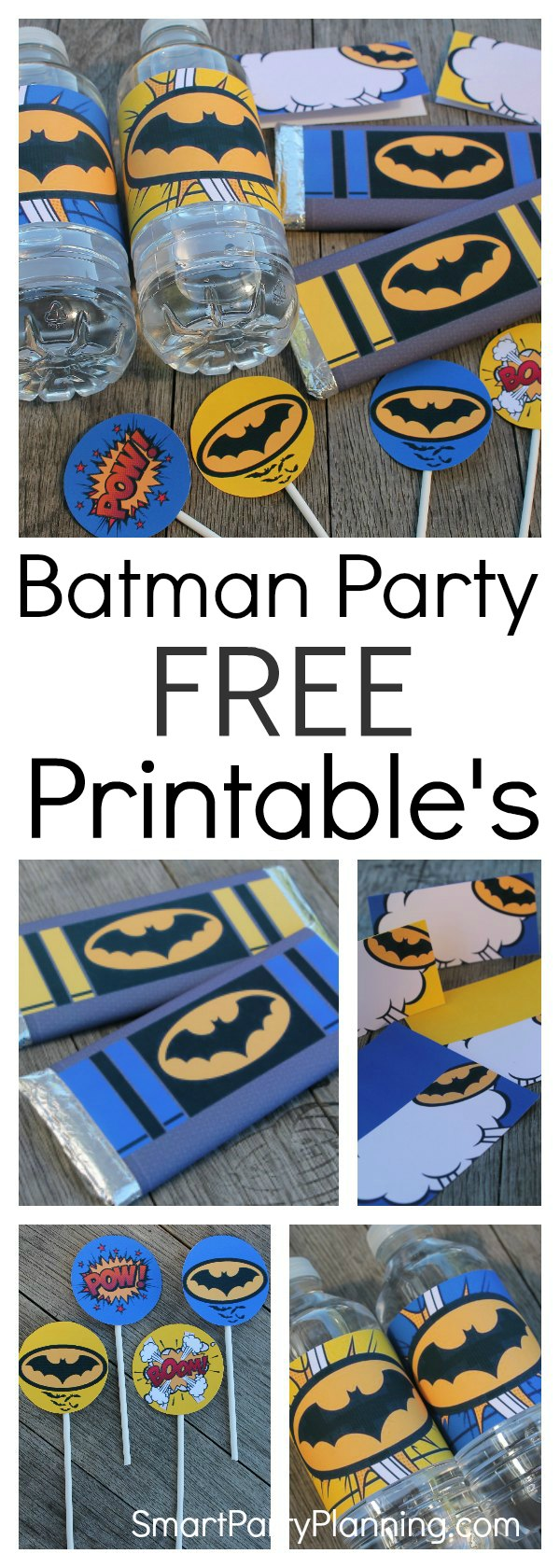 Free Batman printables