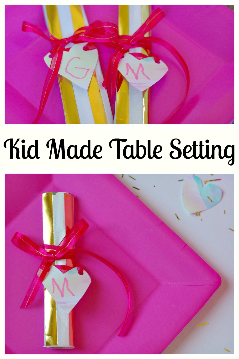 If your kids love crafts, then how about letting them be involved with a kid made table setting especially for mother's day. Not only will it be an enjoyable activity for the kids to undertake, but it will be incredibly special for mom to see the result. Table settings can also be easily tailored to suit birthday's or other special occasions. It is the prefect decoration that the whole family will be able to enjoy.