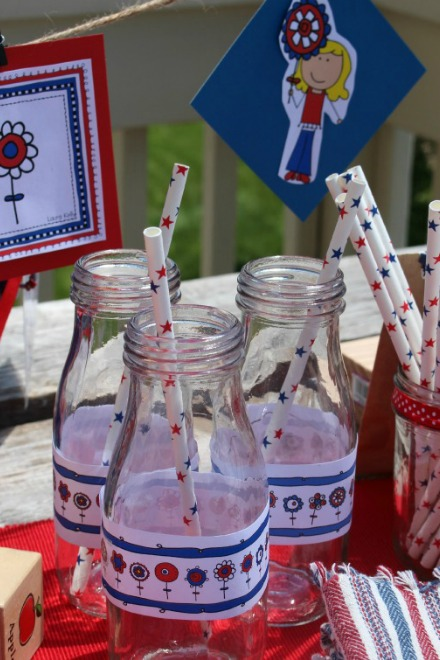 Milk bottle printables