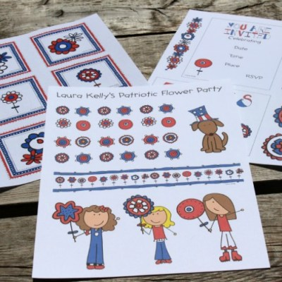 Patriotic Decorations For A Kids Party