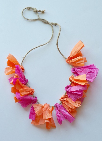 Simple diy hawaiian leis