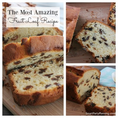 The Most Amazing Fruit Loaf Recipe