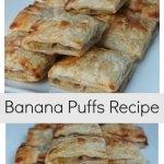 Banana Puffs Recipe