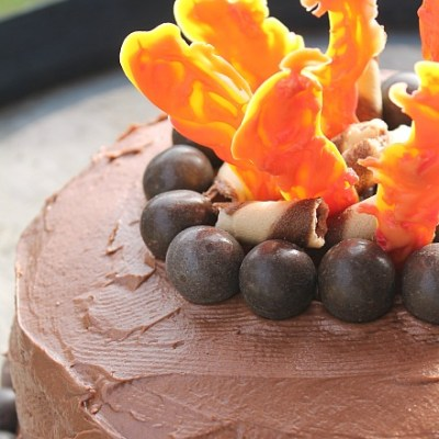 How To Make A Campfire Cake The Easy Way