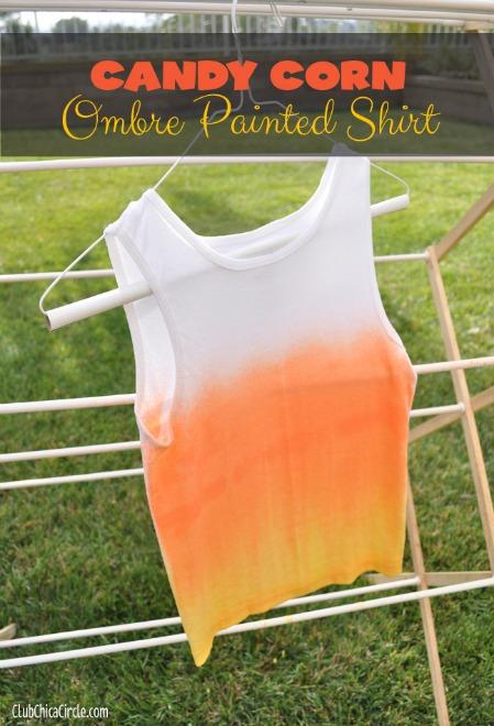 candy-corn-fabric-spray-painted-shirt-halloween-craft-idea