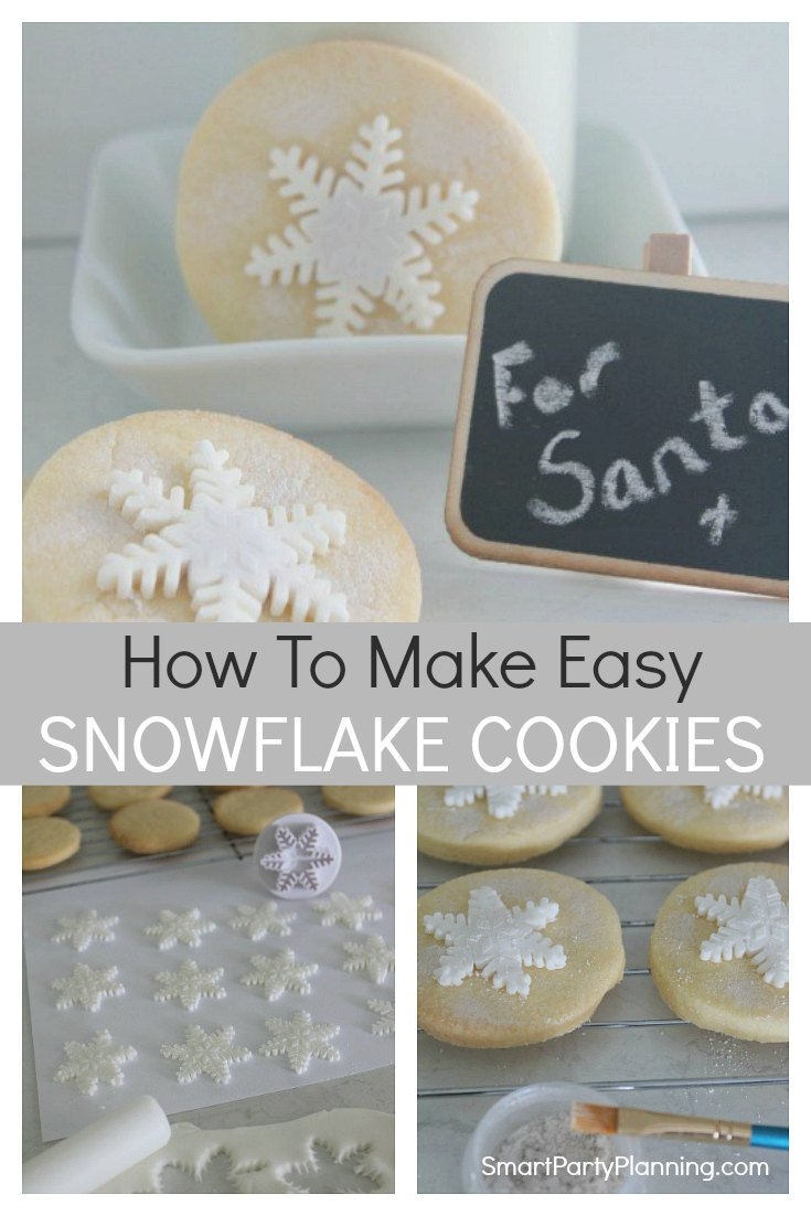 How to make an easy snowflake cookie recipe