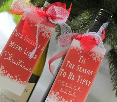 Wine Bottle Tags: The Best DIY Christmas Gift For Wine Lovers