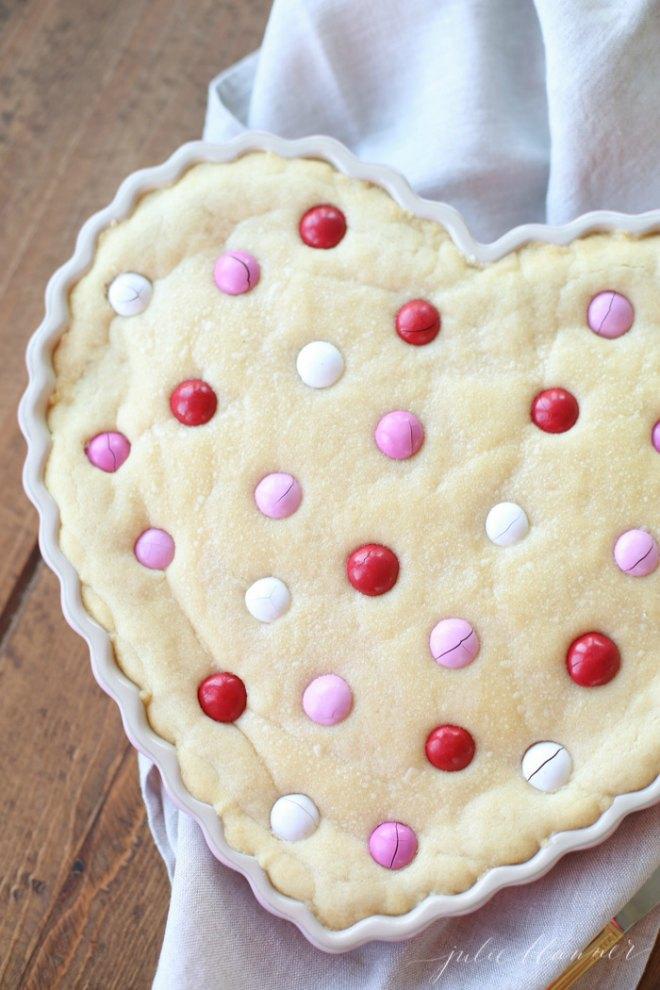 Valentine's Cookie Cake