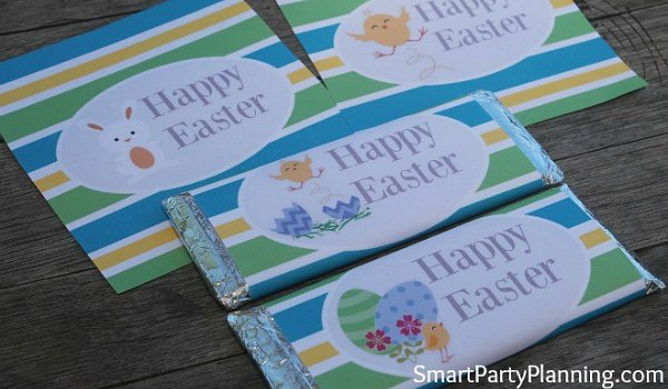 Printable Easter Hershey Bar Wrappers