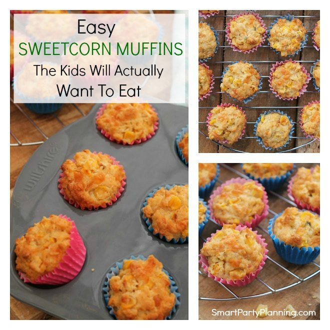 Looking for an easy sweetcorn muffins recipe that the kids will actually eat? This is the recipe for you. The bite sized muffins are perfect for little hands and with the super easy recipe they can be made in minutes. Great as an on the go breakfast or perfect to pack in the school lunchbox. This recipe will become a family favorite.