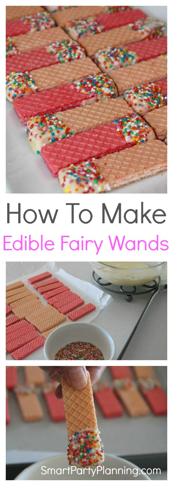 How to make edible fairy wands