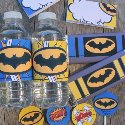 Batman Printables your little Superheroes will love