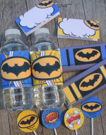 Batman Party Printables