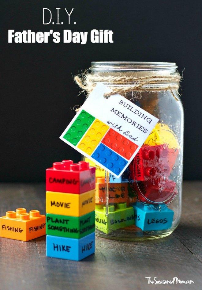 Building memories with dad jar