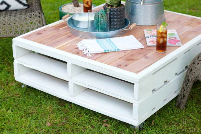 Learn How To Make Pallet Furniture With These Simple Step By Step  Tutorials. With All