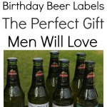Awesome Birthday Beer Labels