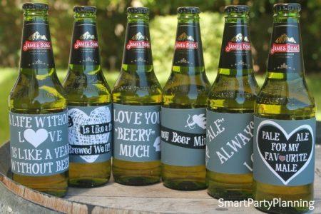 Valentine's Day Beer Printables