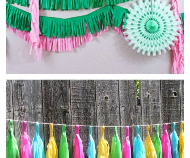Easy Plastic Tablecloth Decorations