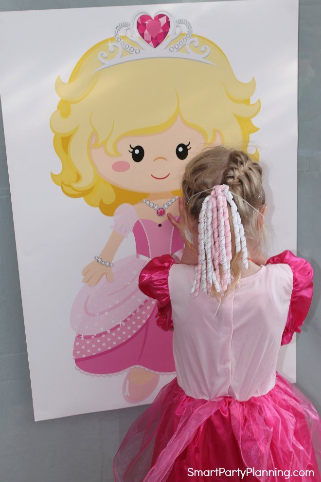 Adding the heart to the princess