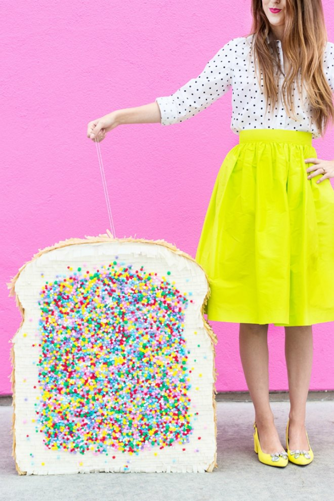 DIY Fairy Bread Pinata