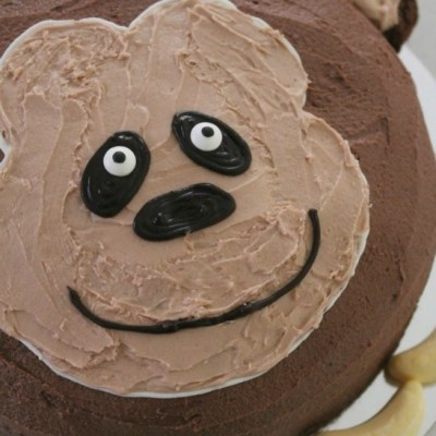 How to Make an Easy But Awesome Monkey Birthday Cake