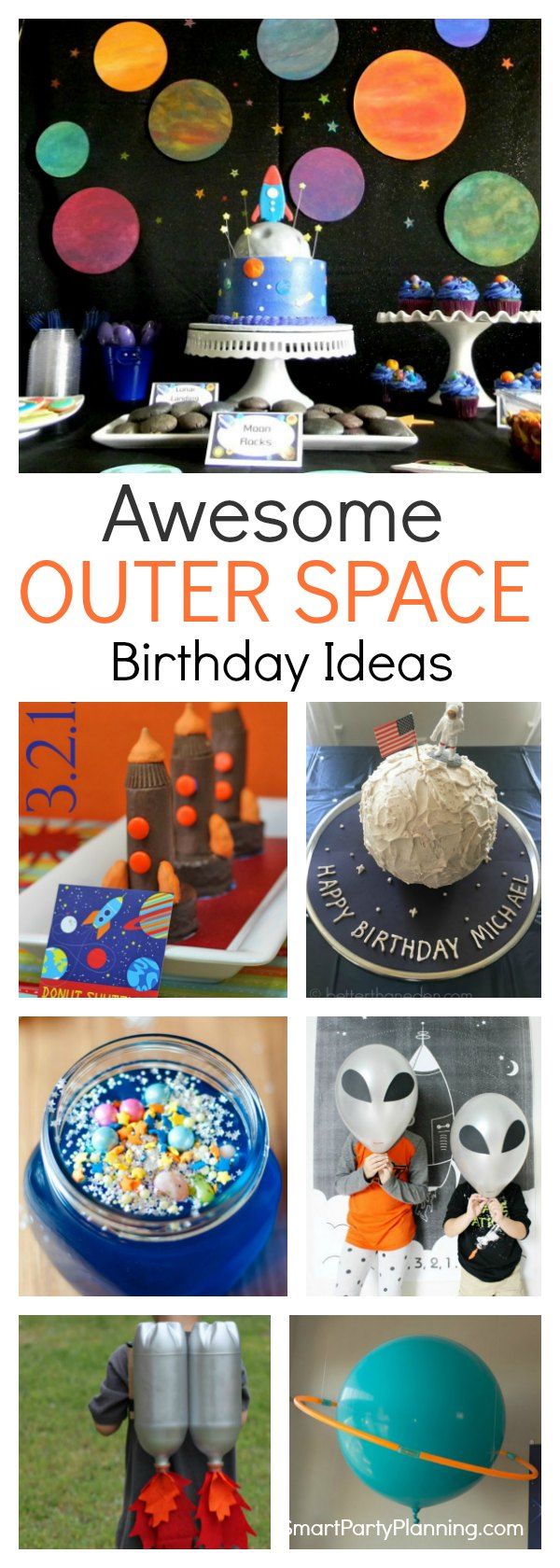 Outer Space Birthday Ideas