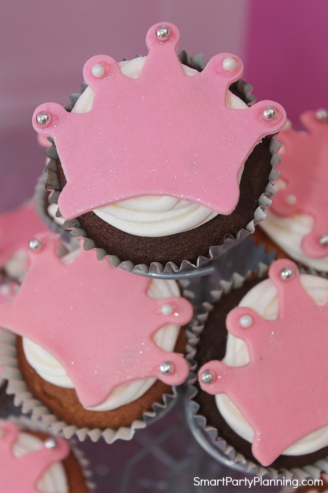 Princess Crown Cupcake