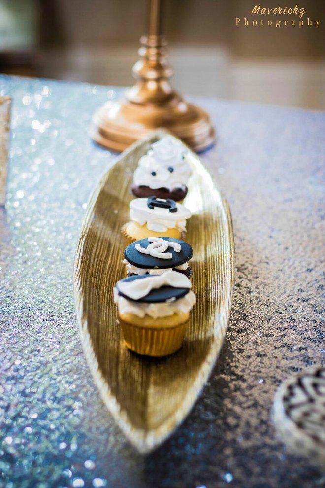 Chanel Cupcake tray