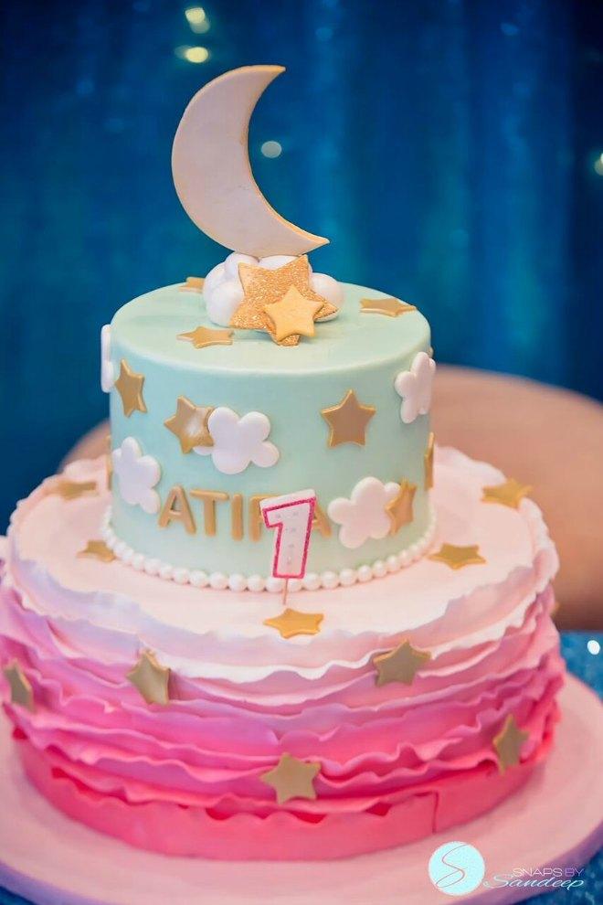 twinkle twinkle little star birthday cake