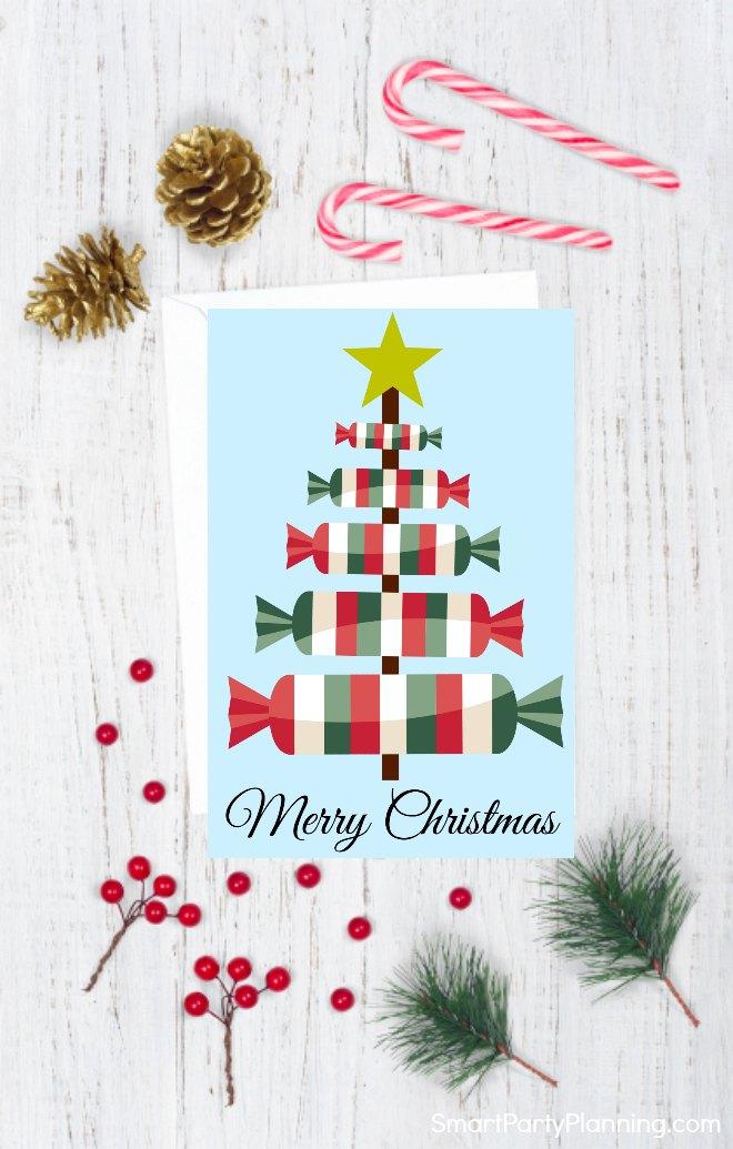 Christmas card style 4