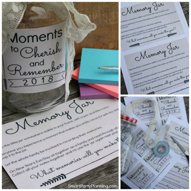 How to set up a memory jar