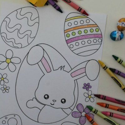 Awesome Easter Bunny Coloring Sheets You'll Want To Download Now