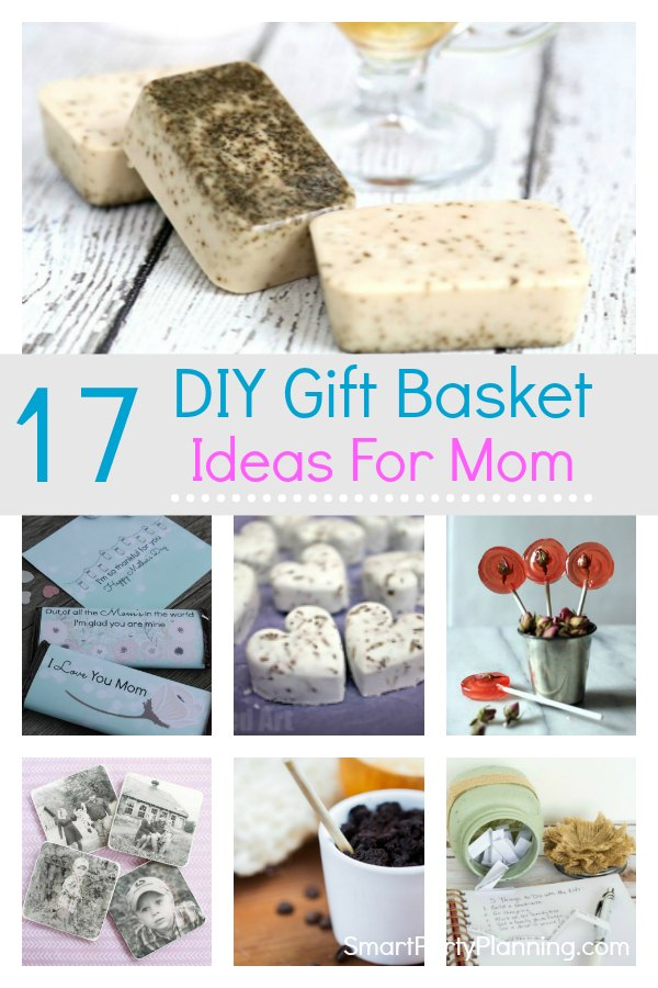17 Gift Basket Ideas For Mom