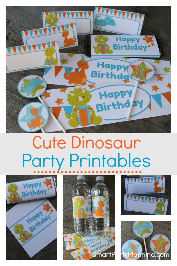 Create awesome party decor with the use of these dinosaur party printables. Children will love the cute and fun designs, and they are super easy to use. With an instant download you can create a Jurassic world with ease. Grab your set now. #Dinosaurprintables #Partyprintables #PDF #Dinosaur #Boys #Cutedinosaur #Dinosaurdecoration #Instantdownload #Fun