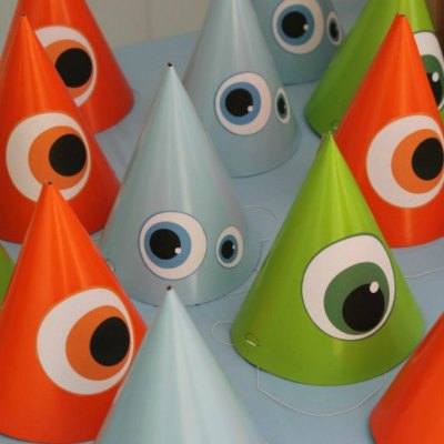 How To Make Easy Monster Party Hats The Kids Will Love