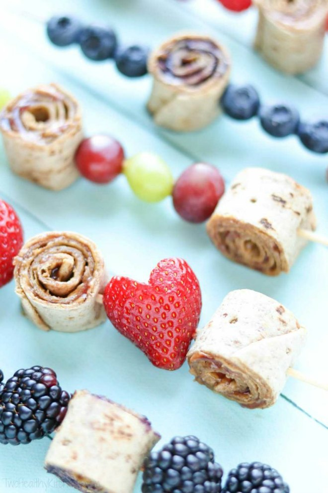 Pin Wheel Sandwich Kabobs