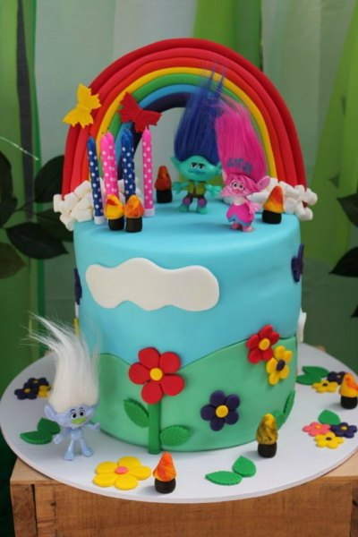 Trolls themed birthday party